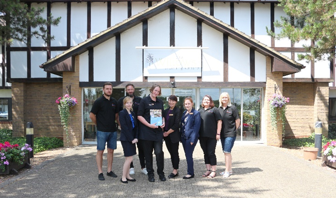 Lizzie gains employment at Wyboston Lakes Resort