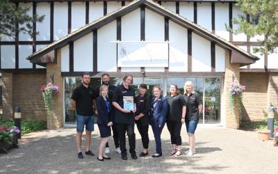 Lizzie gains employment at Wyboston Lakes Resort