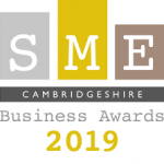 SME Cambridgeshire Business Awards 2019 winner