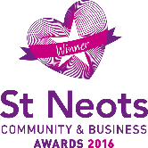 St Neots Community Business Awards 2016 winner